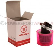 Air_Filter_ _35mm_Conical_Waterproof_Angled_Yimatzu_Brand_Red_1