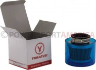 Air_Filter_ _35mm_Conical_Waterproof_Straight_Yimatzu_Brand_Blue_1