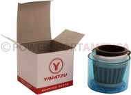 Air_Filter_ _38mm_to_40mm_Conical_Waterproof_Straight_Yimatzu_Brand_Blue_1