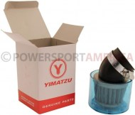 Air_Filter_ _41mm_to_43mm_Conical_Waterproof_Angled_Yimatzu_Brand_Blue_1