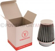 Air_Filter_ _44mm_to_46mm_Conical_Tall_Stack_80mm_2_Stroke_Yimatzu_Brand_Chrome_1