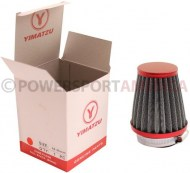 Air_Filter_ _44mm_to_46mm_Conical_Tall_Stack_80mm_2_Stroke_Yimatzu_Brand_Red_1