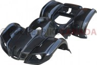 Plastic_Set_ _50cc_to_125cc_ATV_Black_Utility_Style_1