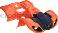 Plastic_Set_ _50cc_to_125cc_ATV_Orange_Utility_Style_1