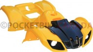 Plastic_Set_ _50cc_to_125cc_ATV_Yellow_Utility_Style_1