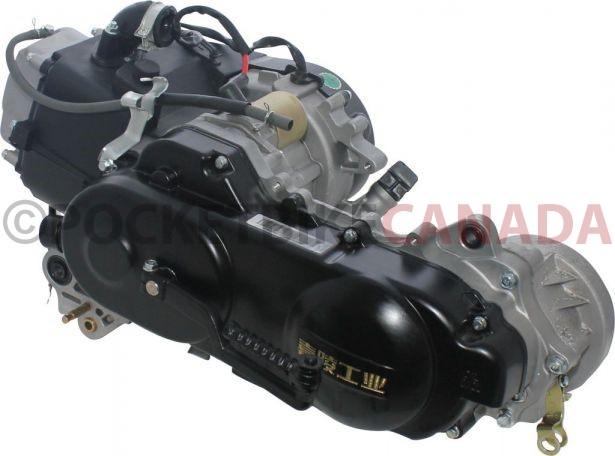 Complete Engine - 50cc GY6, Electric/Kick Start - PBC3140F1 - PowerSport  America - ATV Parts, Dirt Bike Parts, UTV Parts, Scooter Parts, Electric  Bike