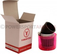 Air_Filter_ _41mm_to_43mm_Conical_Waterproof_Angled_Yimatzu_Brand_Red_1