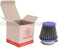 Air_Filter_ _44mm_to_46mm_Conical_Medium_Stack_60mm_2_Stroke_Yimatzu_Brand_Blue_1