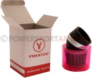 Air_Filter_ _48mm_to_50mm_Conical_Waterproof_Angled_Yimatzu_Brand_Red_1