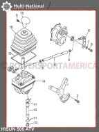 Gearshift_Shifter_Assembly_ _ATV_Hisun_500 700cc_1