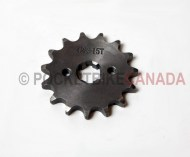 Front Drivetrain Sprocket 15 Teeth for 125cc, T2 Rebel, ATV Quad 4-Stroke - G1050018